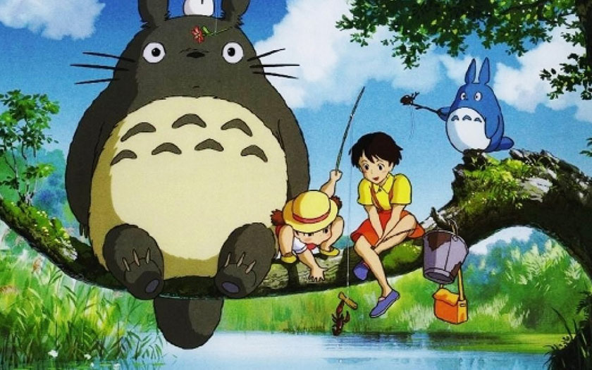 Totoro Ghibli Netflix