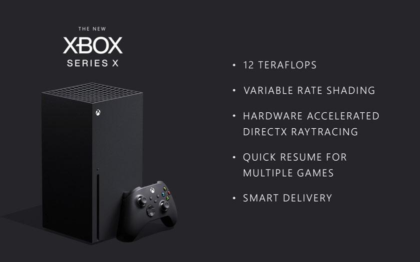 Microsoft confirme sa puissance et détaille ses technos — Xbox Series X