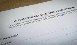 Attestation de déplacement Covid-19 mars 2021 : comment télécharger la dérogation ?