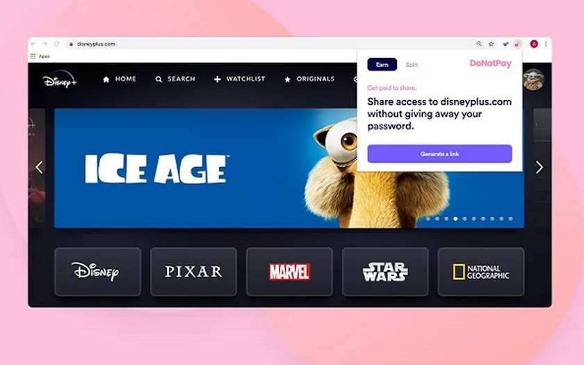 DoNotPay partage Netflix