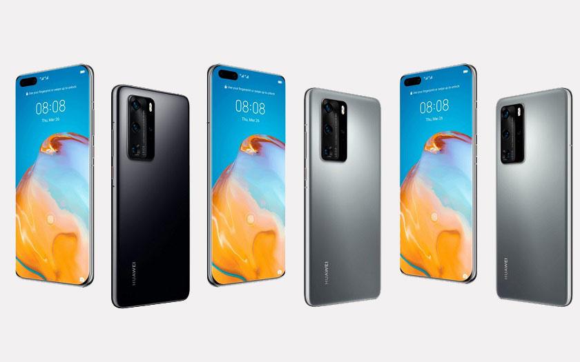 Huawei P40 et P40 Pro