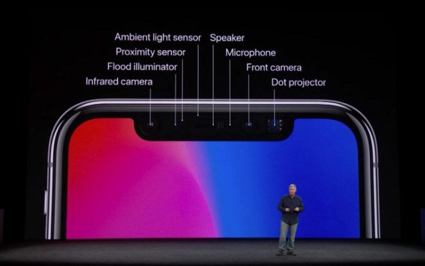 Encoche de l'iPhone
