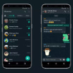 Mode sombre de WhatsApp