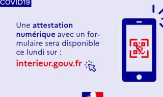 Confinement : retour de l'attestation de déplacement sur smartphone le 6 avril