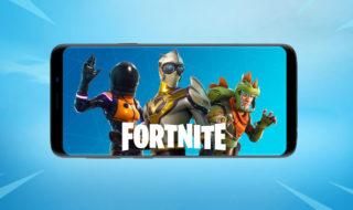 Fortnite sur le Play Store