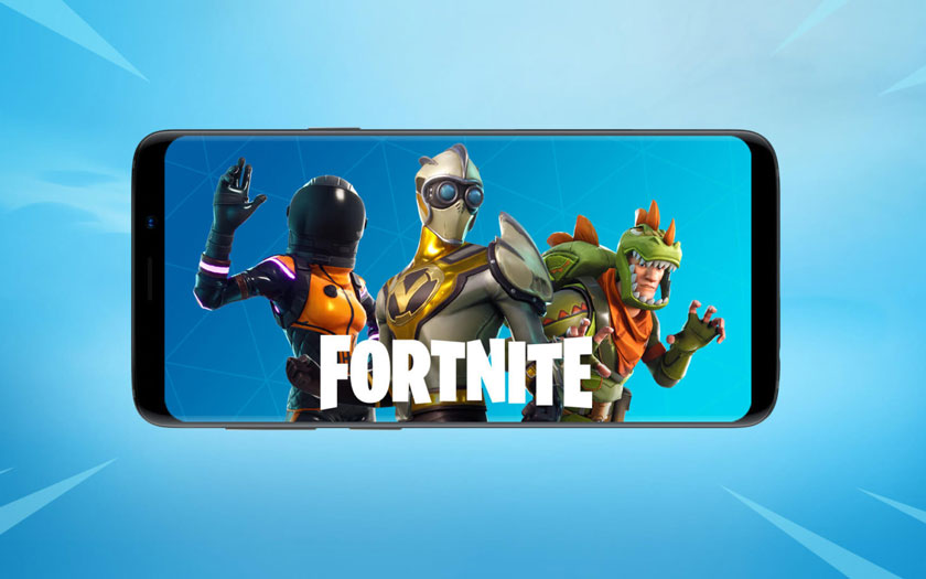 Fortnite sur le Play Store