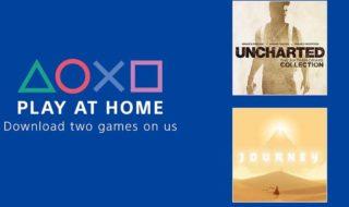 PS4 : les jeux Uncharted et Journey sont gratuits pour le confinement