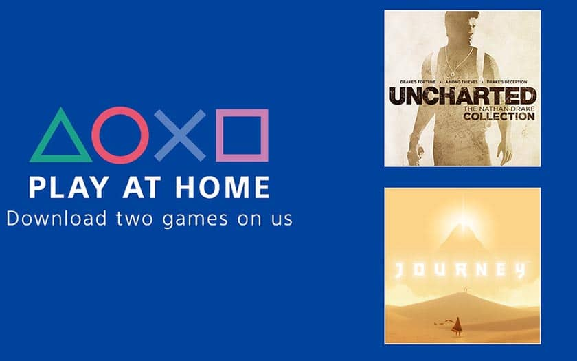 Sony Play At home : offre PS4