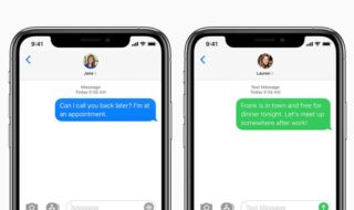 iMessage sur iPhone