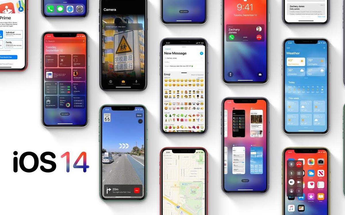 iOS 14 : les iPhone compatibles