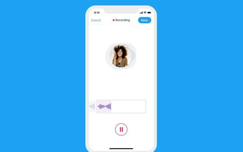 Twitter inaugure les tweets audio