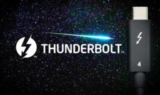 Thunderbolt 4 officiel : 40 Gb/s, USB 4 et fonctions bonus, voici ce qu'il faut savoir