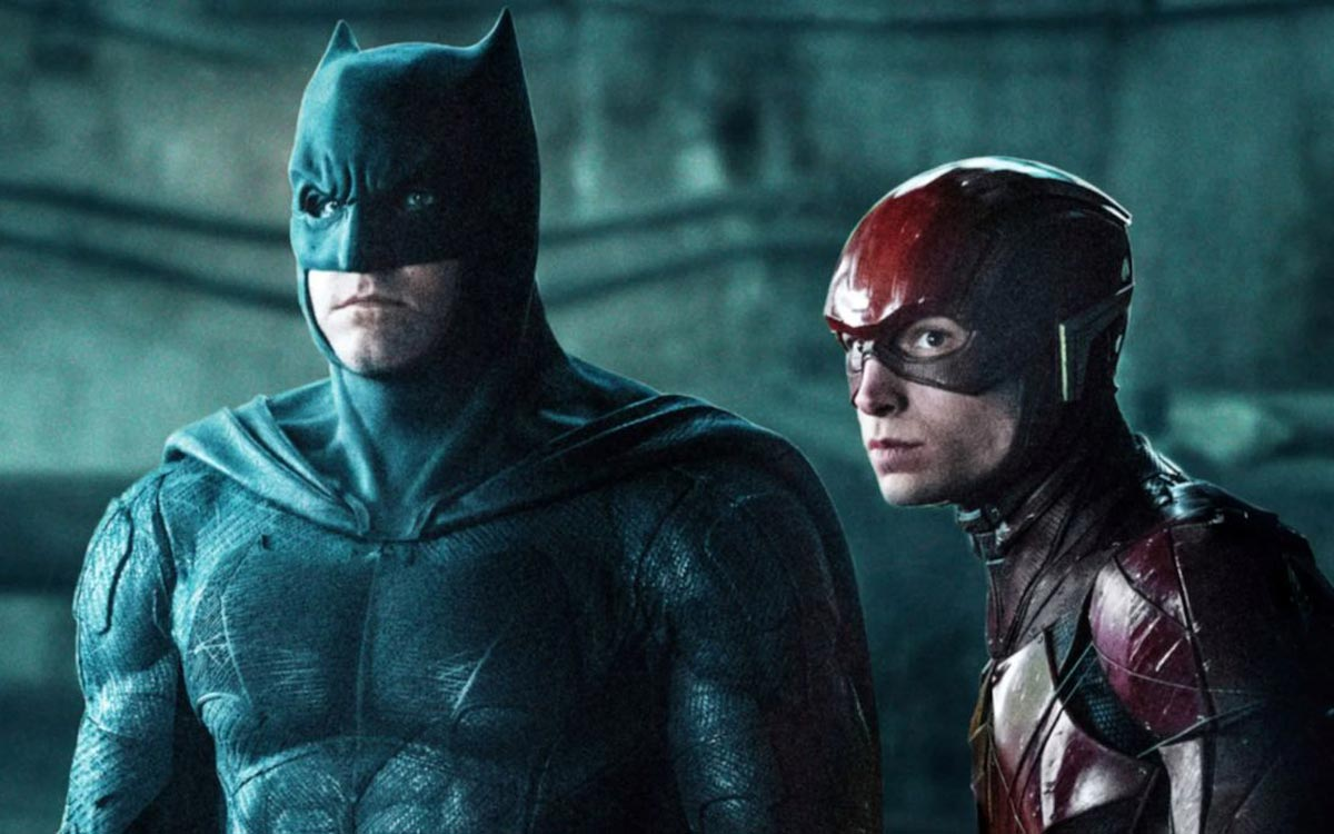 Batman Ben Affleck et The Flash