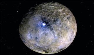 La planète naine Cérès abrite un océan d'eau salée