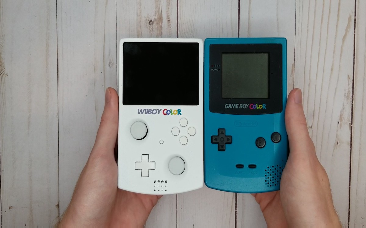 WiiBoy Color, crédits GingerOfMods
