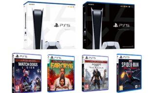 PS5 : découvrez la boîte de la console et le design des boîtes de jeux