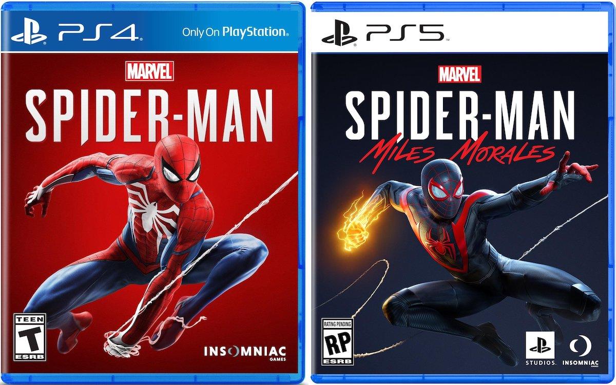 Comparaison jeux PS4 et PS5