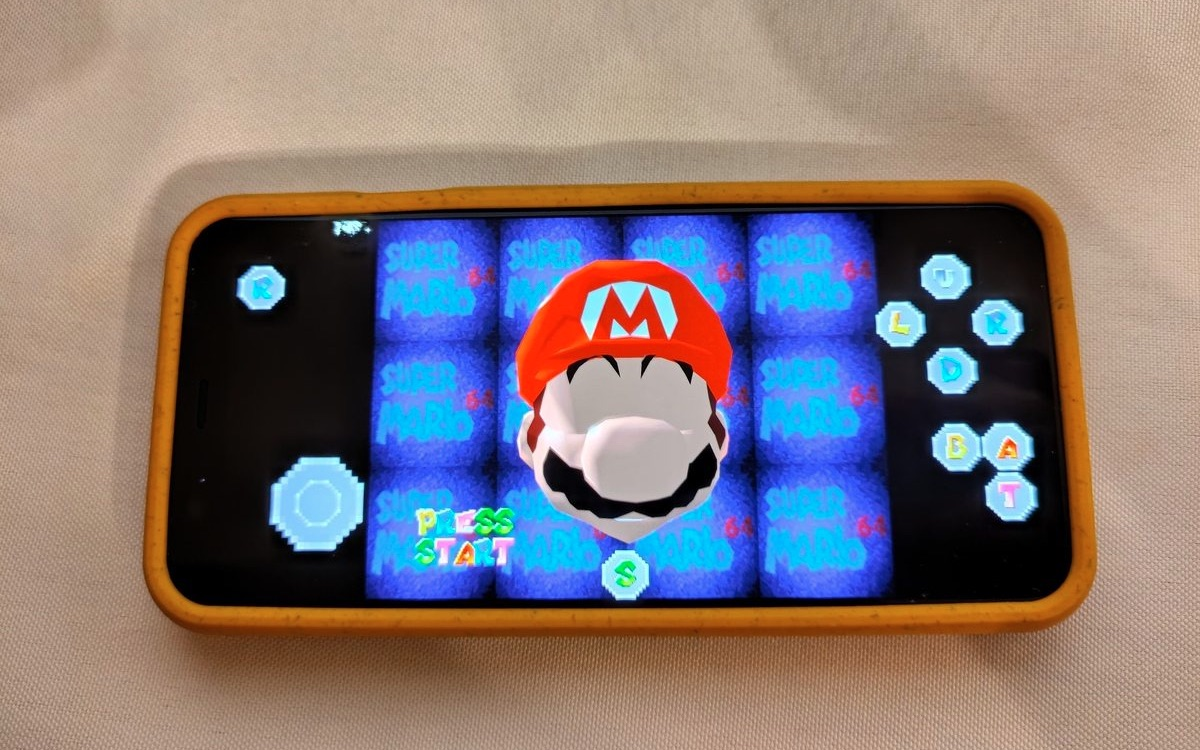 Super Mario 64 sur Android