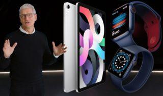 Apple Watch Series 6, Watch SE, iPad 8 et Air : caractéristiques, prix , tout savoir sur les nouveautés Apple