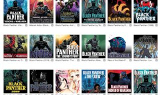 Comics de Black Panther