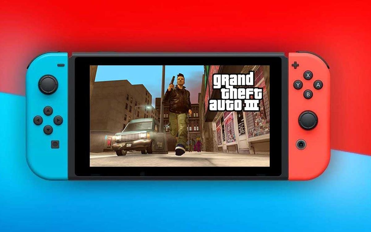 Nintendo Switch GTA 3