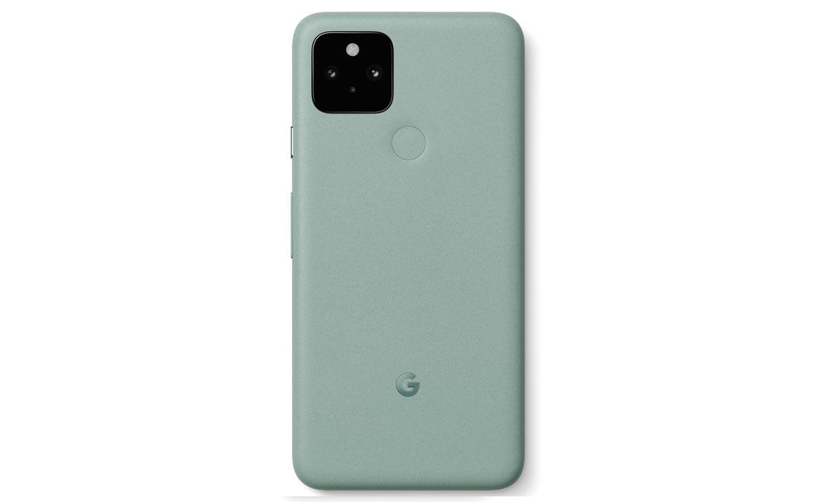 Pixel 5 vert clair