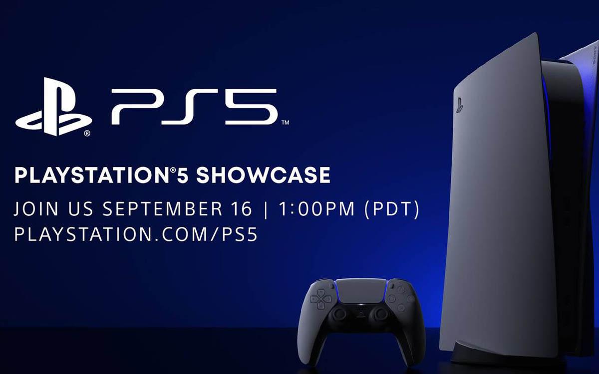 PS5 : un événement en ligne le 16 septembre 2020