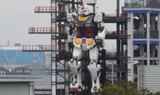 Gundam : un robot géant de 18 mètres inspiré de la série fait ses premiers pas au Japon