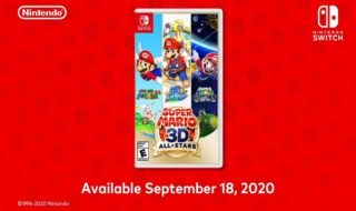 Switch : Nintendo dévoile enfin la compilation Super Mario 3D All-Stars