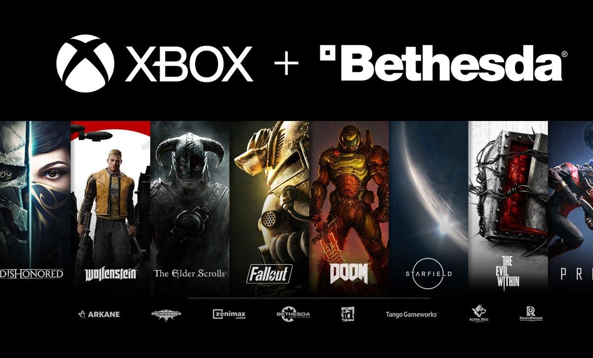 Xbox Game Pass et Bethesda