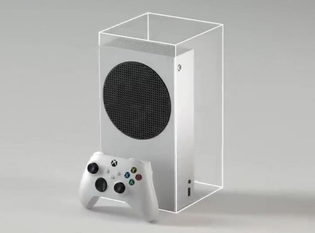 Xbox Series S est 60% plus petite que la Series X
