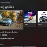 XBox Series X et Series S : pré-installation des jeux