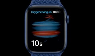 Apple Watch Oxymètre