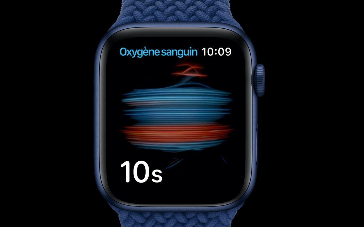Apple Watch Oxymètre