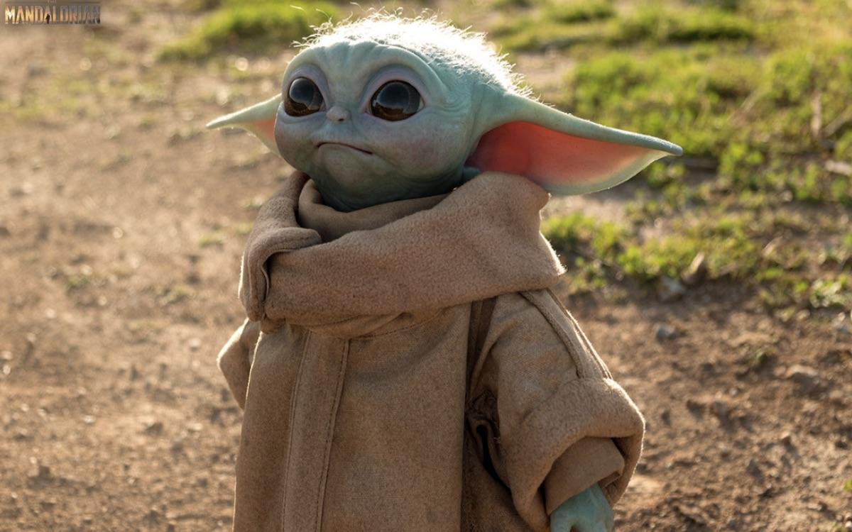 Le désormais iconique et très mignon Baby Yoda. Image Disney