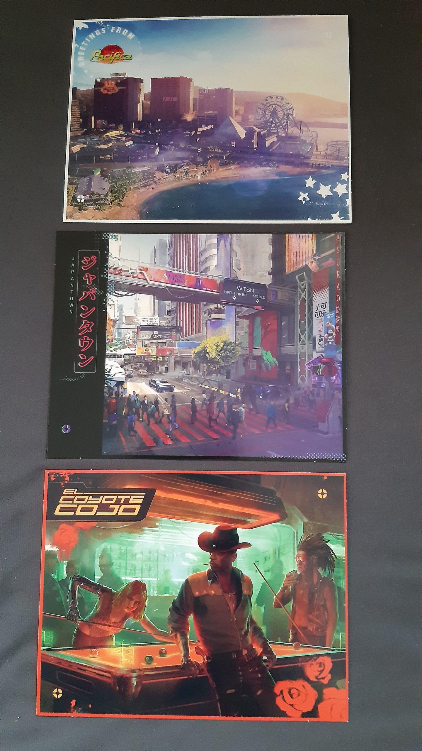 Cartes postales Cyberpunk 2077
