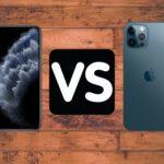Comparatif iPhone 11 Pro et iPhone 12 Pro