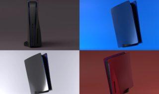 PS5 : des coques personnalisées sont en vente (noir mat, chrome, etc.)