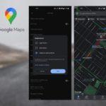 Google Maps comment activer mode sombre