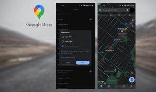 Google Maps : comment activer le nouveau mode sombre ?