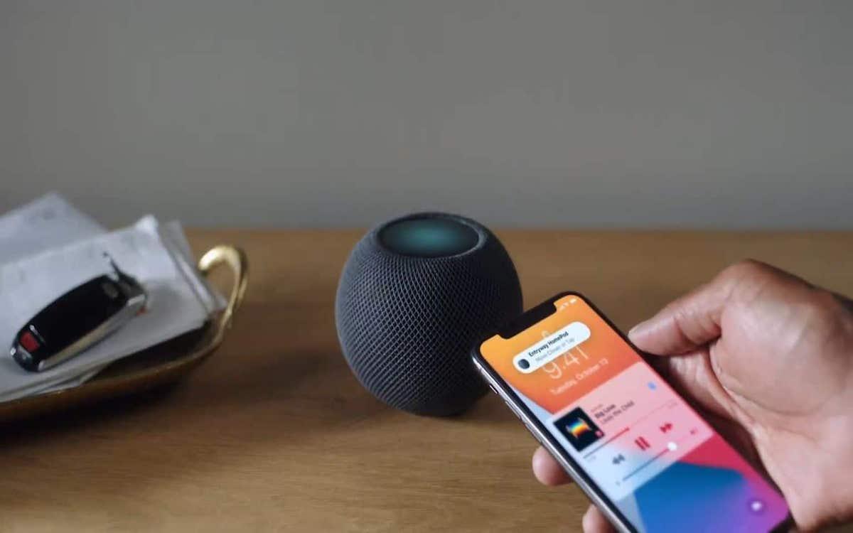 Keynote Apple HomePod Mini