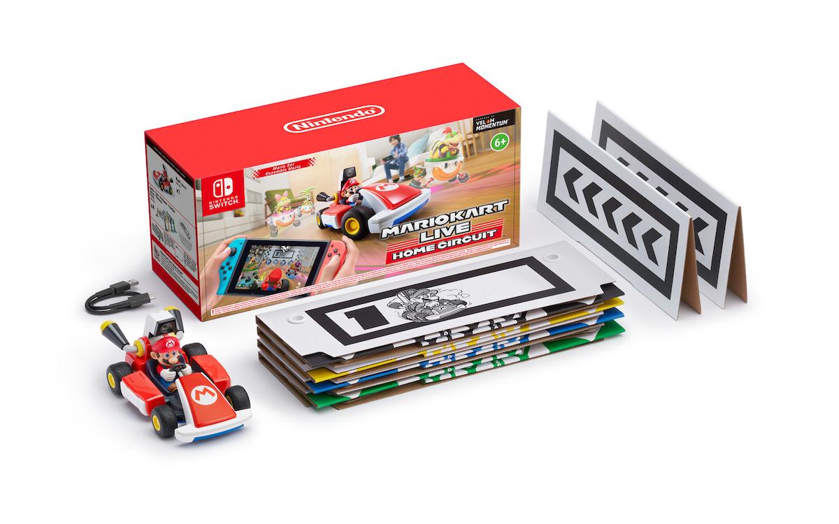 Mario Kart Live Home Circuit contenu de la boîte
