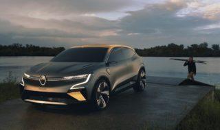 Renault Mégane eVision : 160 kWh, 450 km d'autonomie, disponible en 2022