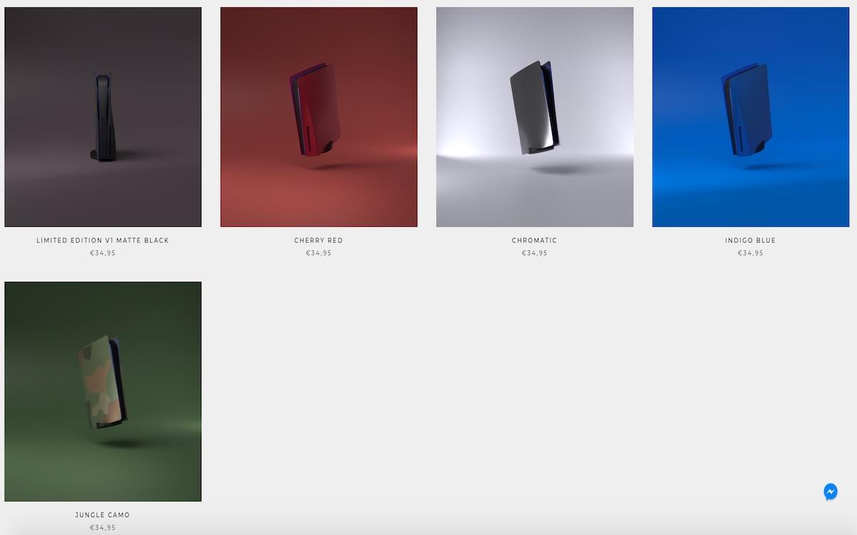PlateStation5.com coloris
