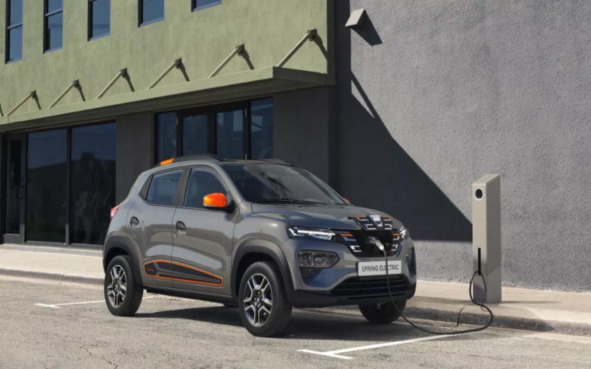 La Dacia Spring, citadine électrique à moins de 15.000 euros