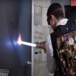 Star Wars : un redoutable sabre laser pouvant découper du métal