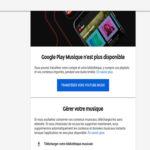 Google Play Music est mort, vive YouTube Music