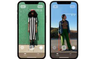 L'iPhone 12 Pro peut mesurer la taille précise d'une personne grâce au scanner LiDar