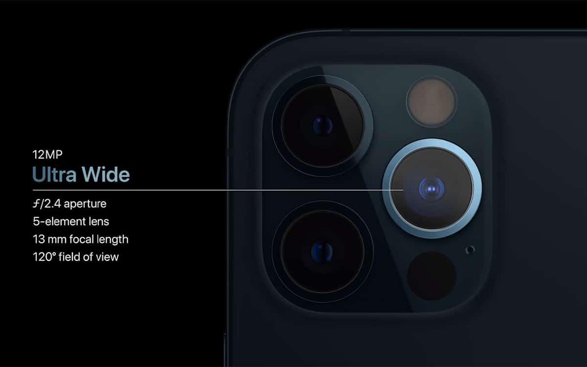 iPhone 12 Pro capteur photo