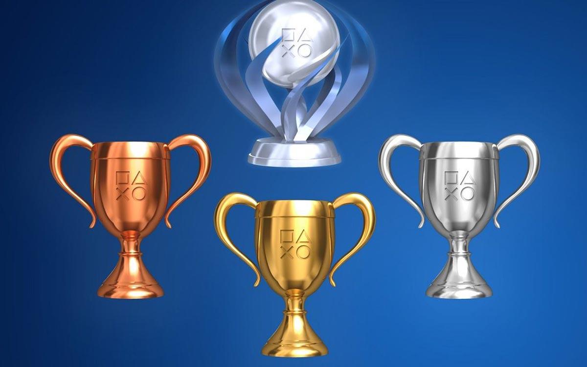 Trophées PS5 et PS4
